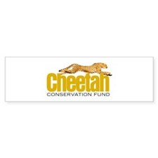 Cheetah Conservation Fund Bumper Bumper Sticker