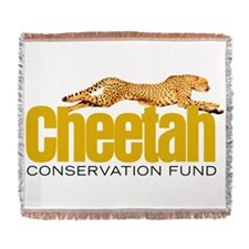 Cheetah Conservation Fund Woven Blanket