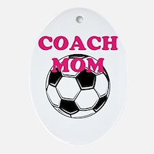 Coach Mom Ornament (Oval)