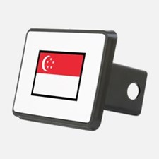 FLAG OF SINGAPORE Hitch Cover