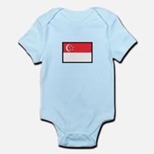 FLAG OF SINGAPORE Body Suit