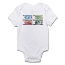 Zimbabwe Money Infant Bodysuit