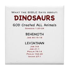Dinosaurs - Tile Coaster