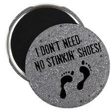 Barefoot Runner Magnet