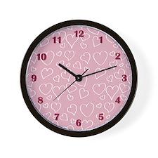 Cute Hand drawn Wall Clock