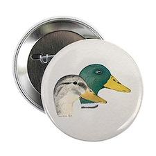 Mallard Ducks - Pair Button