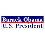Barack Obama: U.S. President sticker
