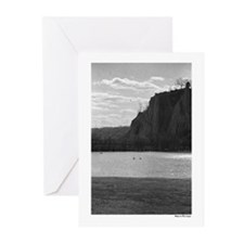 """""""East End Cliffs"""" - Greeting Cards (Pk of 10)"""