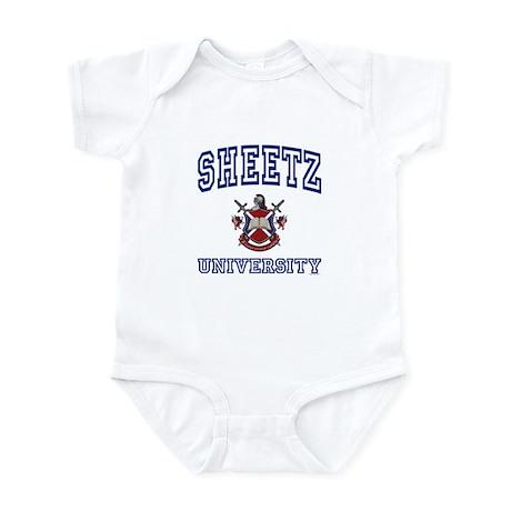 SHEETZ University Infant Bodysuit