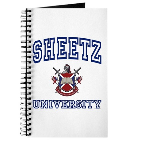 SHEETZ University Journal