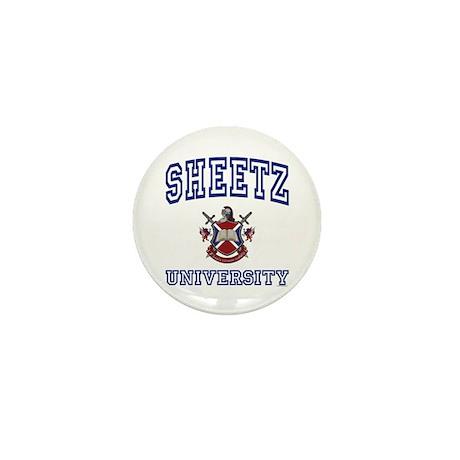 SHEETZ University Mini Button
