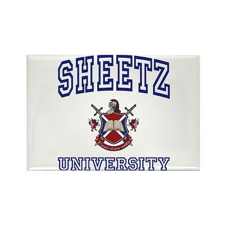 SHEETZ University Rectangle Magnet