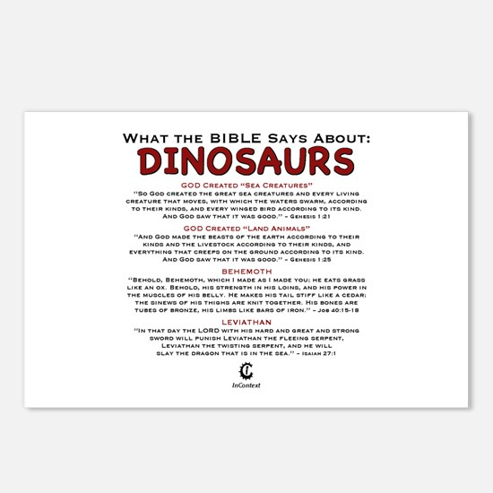 Dinosaurs 2.0 - Postcards (Package of 8)