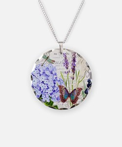 New botanical Necklace