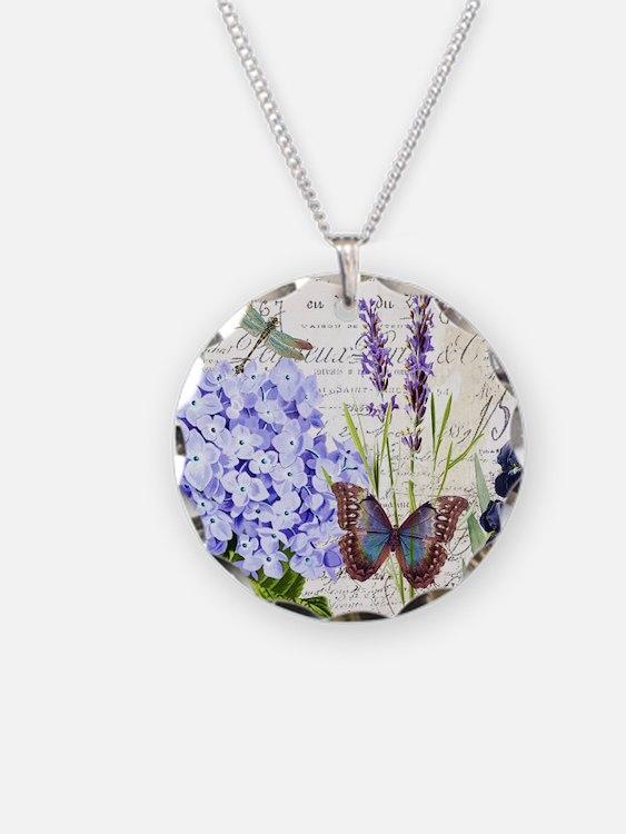 New botanical Necklace