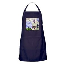 New botanical Apron (dark)