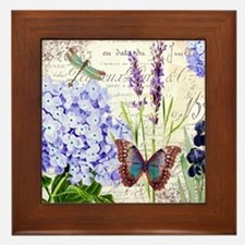 New botanical Framed Tile