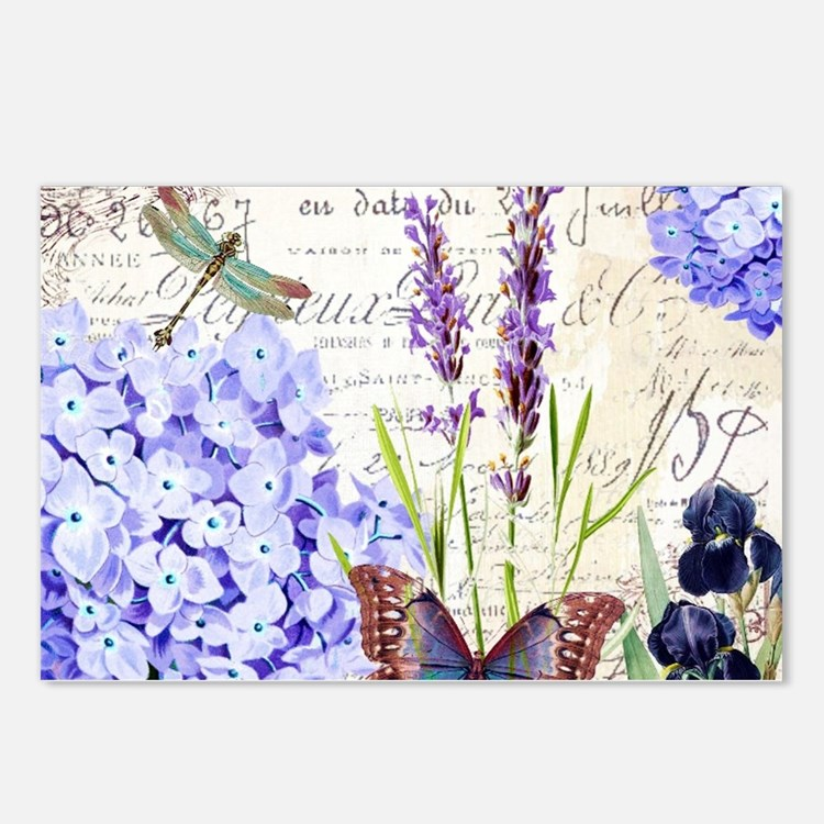 New botanical Postcards (Package of 8)
