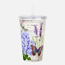 New botanical Acrylic Double-wall Tumbler