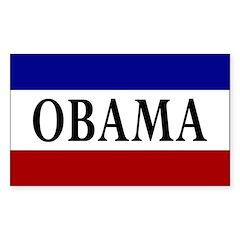 Obama Campaign Bumper Decal