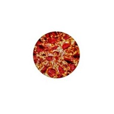 Pizza Painting Mini Button