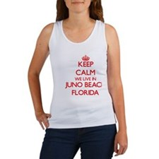 Keep calm we live in Juno Beach Florida Tank Top