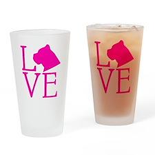 Cane Corso Love Drinking Glass
