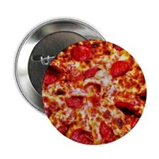 """Pizza Painting 2.25"""" Button (10 pack)"""