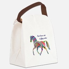 paint horse lovers.JPG Canvas Lunch Bag
