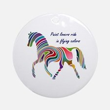 paint horse lovers.JPG Ornament (Round)