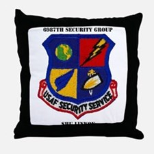 6987TH SECURITY GROUP Throw Pillow