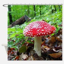 FlyAgaric013 Shower Curtain