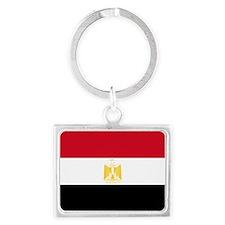 Egypt flag Landscape Keychain