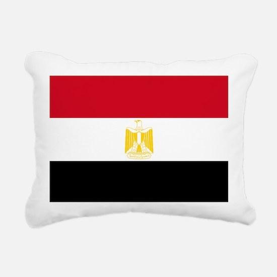 Egypt flag Rectangular Canvas Pillow