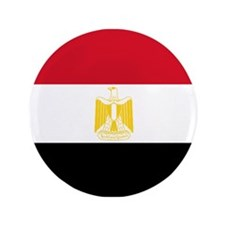 "Egypt flag 3.5"" Button"
