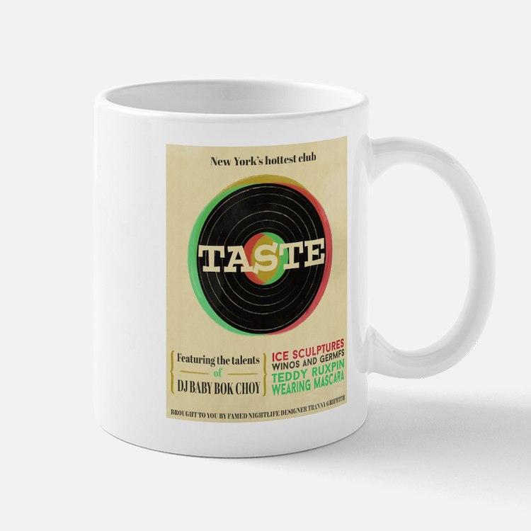 SNL Stefon Club Taste Poster Mugs