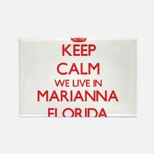 Keep calm we live in Marianna Florida Magnets