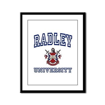 RADLEY University Framed Panel Print
