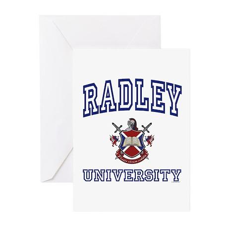RADLEY University Greeting Cards (Pk of 10)