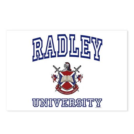 RADLEY University Postcards (Package of 8)