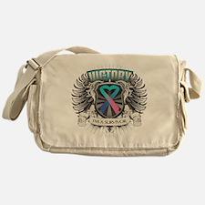Thyroid Cancer Victory Messenger Bag