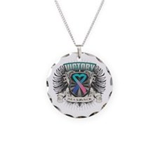 Thyroid Cancer Victory Necklace