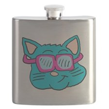 80s sunglasses Cat Flask
