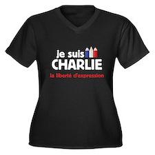 je suis Charlie Plus Size T-Shirt