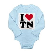 Funny Nashville tennessee Long Sleeve Infant Bodysuit