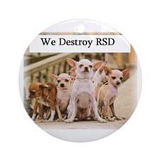 Cute Rsd research Ornament (Round)