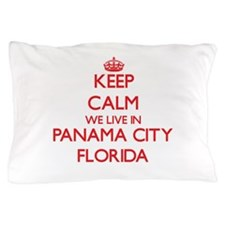 Keep calm we live in Panama City Flori Pillow Case