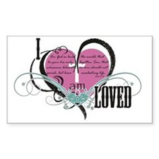 I am loved Decal
