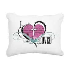 I am loved Rectangular Canvas Pillow