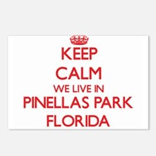 Keep calm we live in Pine Postcards (Package of 8)